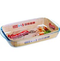 Форма с/к PYREX Cook n'Share форма стекл.прям.32х20х6см(2л)цв.вклад (247BN00/CS47)