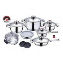 Набор посуды Berlinger Haus Stainless steel set 16 предметов BH-1030