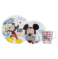 детск. LUMINARC DISNEY PARTY MICKEY / НАБОР/3 пр.короб (N5278)