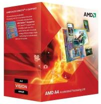 Процессор AMD A4-4020 X2 sFM2 (3.2Ghz, 1MB, 65W) BOX