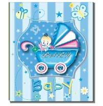 Альбом EVG 30sheet S29x32 Baby car blue