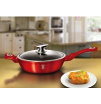 Сотейник Berlinger Haus Metallic Line BURGUNDY Edition BH-1260N/6