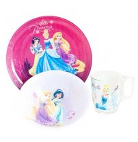 Столовый сервиз Disney Princess Royal 3 пред. Luminarc J3997
