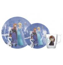 Детский набор Luminarc Disney Frozen Winter Magic из 3 предметов N5277