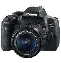 Аппараты цифровые CANON EOS 750D 18-55 IS STM KIT