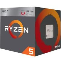 Процессор AMD Ryzen 5 2400G sAM4 (3.9GHz, 4MB, 65W) BOX