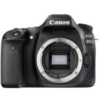 Аппараты цифровые CANON EOS 80D body