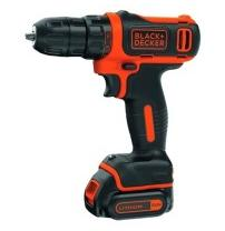 Шуруповерт BLACK&DECKER  BDCDD12, 10.8V, 26Нм, Li-Ion