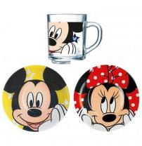 Столовый сервиз Disney Oh Minnie 3 пред. Luminarc H6446