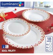 Столовый сервиз  IDOL FRUITY на 18 предметов LUMINARC J8547