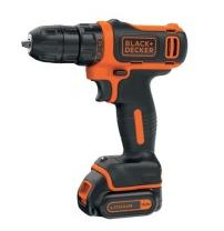 Шуруповерт BLACK&DECKER  BDCDD12B, 10.8V, 26Нм, Li-Ion, 2акк.