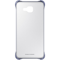 Чехол для сматф. SAMSUNG A7 2016/A710 - Clear Cover черный