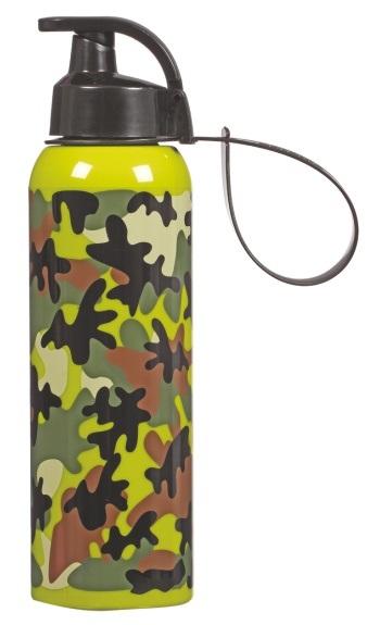 Купить Бутылка для спорта Herevin Camouflage 750 мл 161405-060 в ... 19cc07f1625