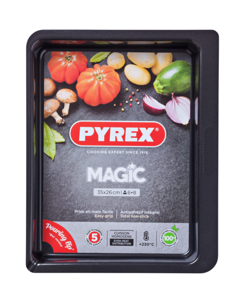 Форма для выпечки Pyrex Magic 35х26 см MG35RR6
